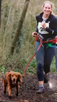 canicross running with your dog